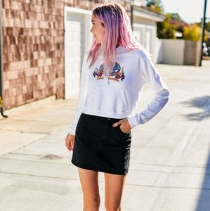 J Galt Brandy Melville Margret Denim Skirt